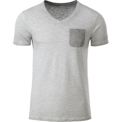 T-shirt bio Homme - gris clair