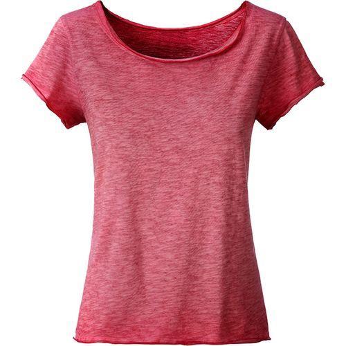 T-shirt bio Femme - rouge piment