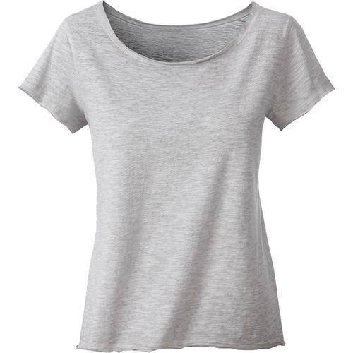 T-shirt bio Femme - gris clair