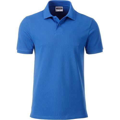 Polo classique Bio Homme - bleu cobalt