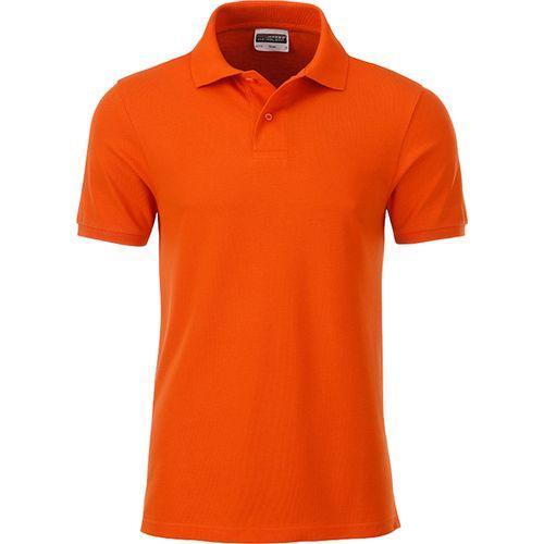 Polo classique Bio Homme - orange foncé
