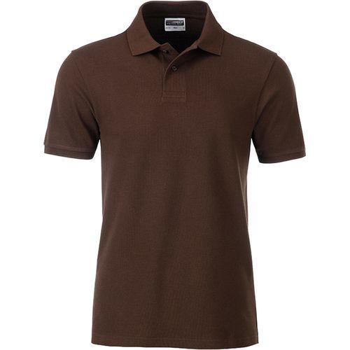 Polo classique Bio Homme - marron