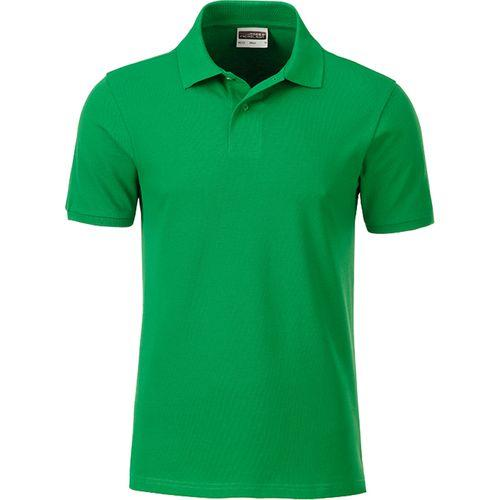Polo classique Bio Homme - vert fougère