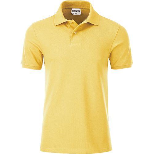 Polo classique Bio Homme - jaune clair