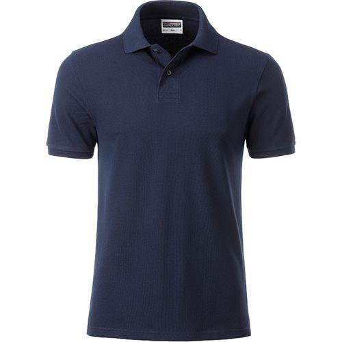 Polo classique Bio Homme - bleu marine