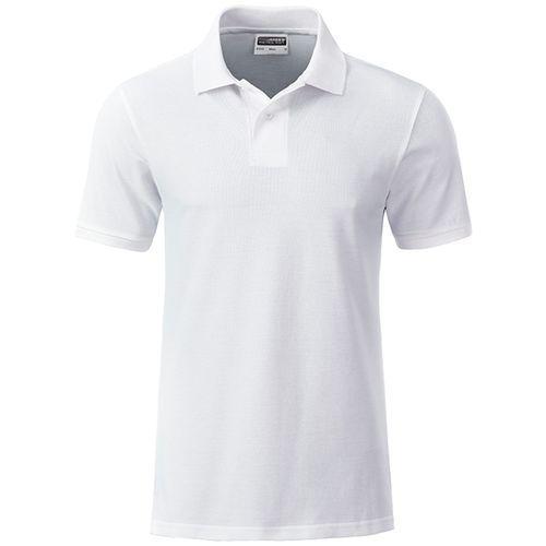 Polo classique Bio Homme - blanc