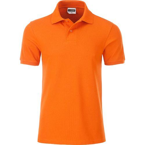 Polo classique Bio Homme - orange