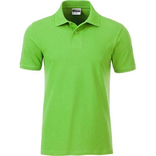 Polo classique Bio Homme - vert citron