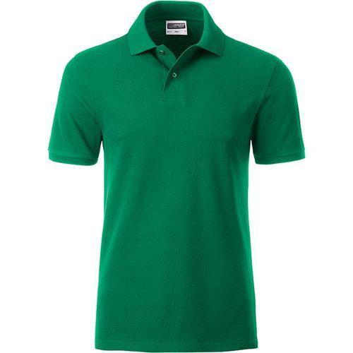 Polo classique Bio Homme - vert irlandais