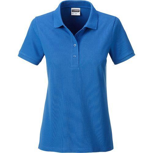 Polo classique Bio Femme - bleu cobalt