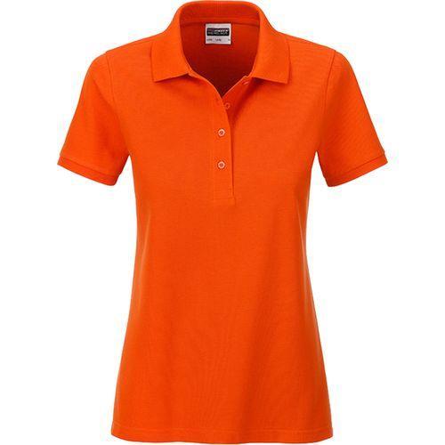 Polo classique Bio Femme - orange foncé