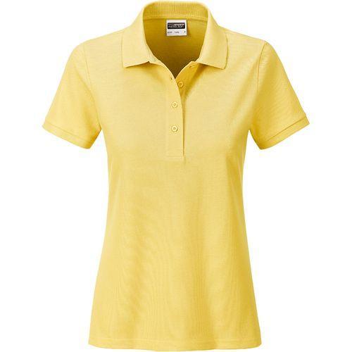 Polo classique Bio Femme - jaune clair