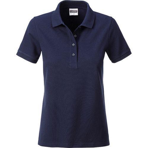 Polo classique Bio Femme - bleu marine