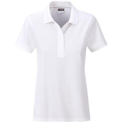 Polo classique Bio Femme - blanc