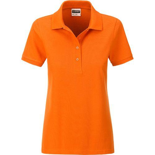 Polo classique Bio Femme - orange
