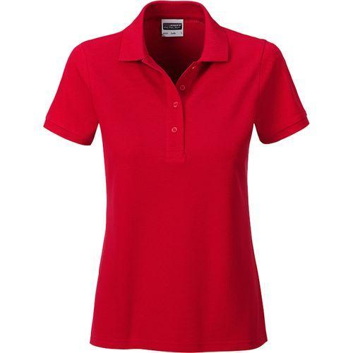 Polo classique Bio Femme - rouge