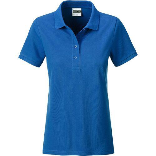 Polo classique Bio Femme - bleu royal