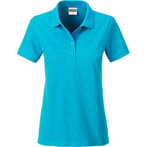 Polo classique Bio Femme - turquoise