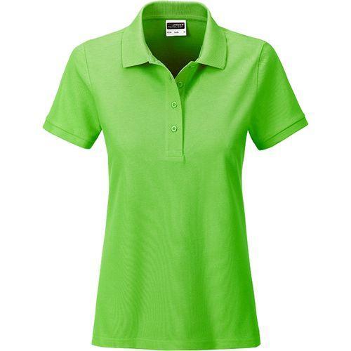 Polo classique Bio Femme - vert citron
