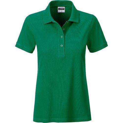 Polo classique Bio Femme - vert irlandais