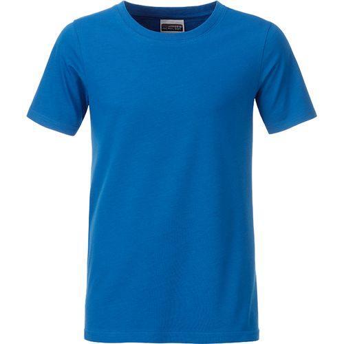 T-shirt bio Enfant - bleu cobalt