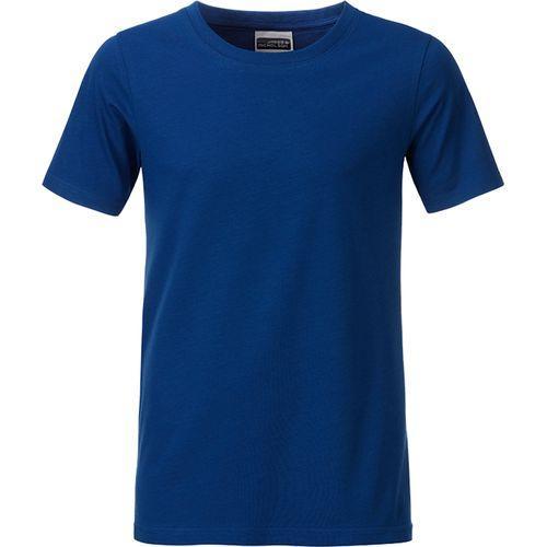 T-shirt bio Enfant - bleu royal foncé