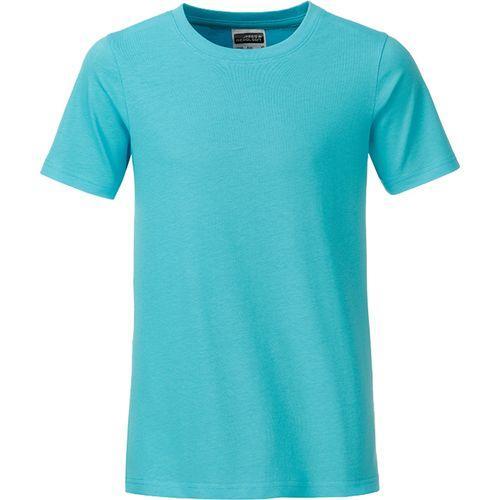 T-shirt bio Enfant - bleu pacifique