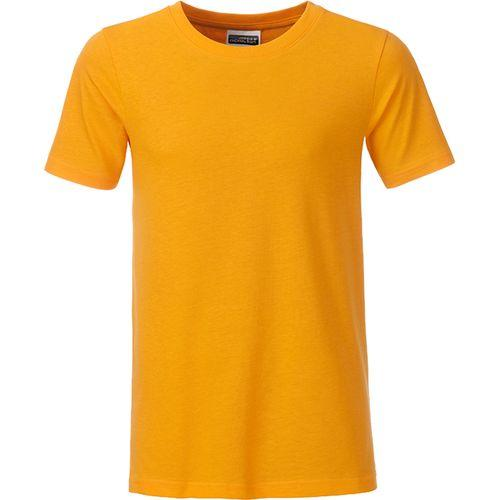 T-shirt bio Enfant - jaune doré