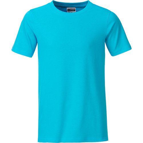 T-shirt bio Enfant - turquoise