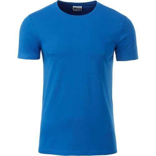 T-shirt bio Homme - bleu cobalt