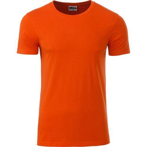 T-shirt bio Homme - orange foncé
