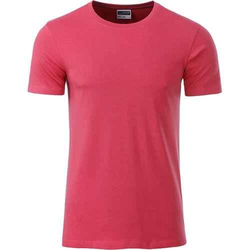 T-shirt bio Homme - framboise