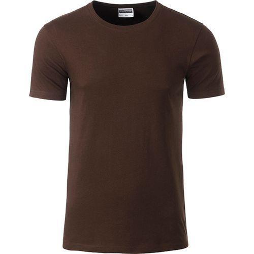 T-shirt bio Homme - marron