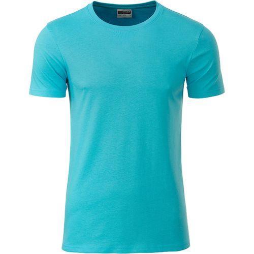 T-shirt bio Homme - bleu pacifique