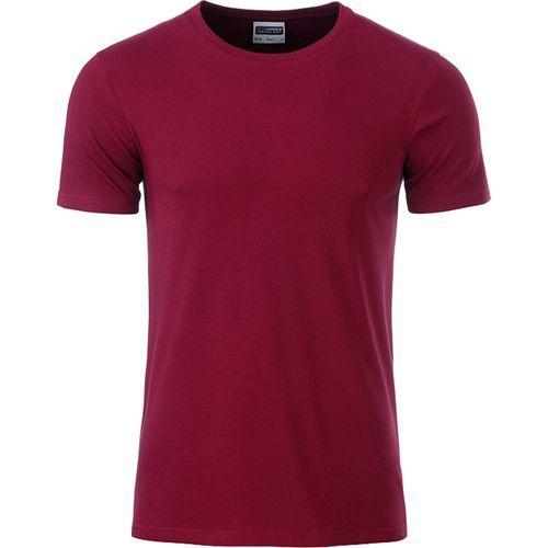 T-shirt bio Homme - lie de vin