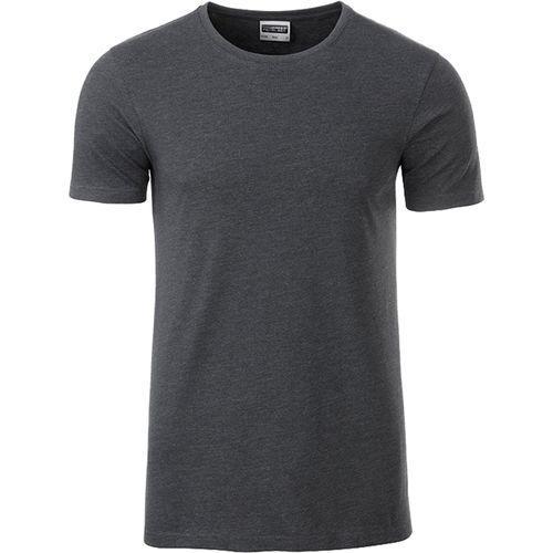 T-shirt bio Homme - noir chiné