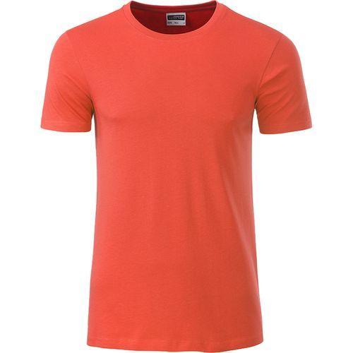 T-shirt bio Homme - corail