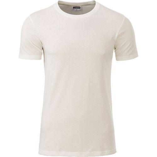T-shirt bio Homme - écru