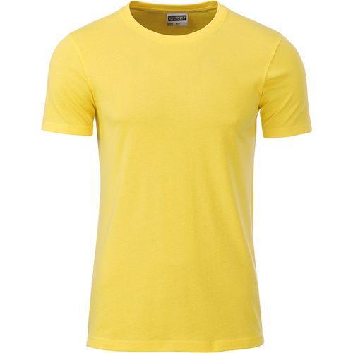 T-shirt bio Homme - jaune