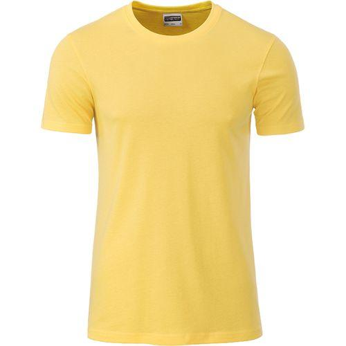 T-shirt bio Homme - jaune clair
