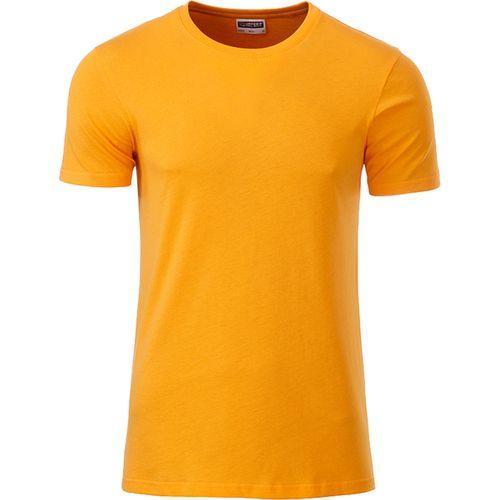 T-shirt bio Homme - jaune doré