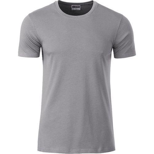 T-shirt bio Homme - gris acier