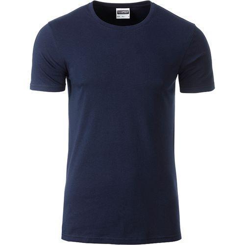 T-shirt bio Homme - bleu marine