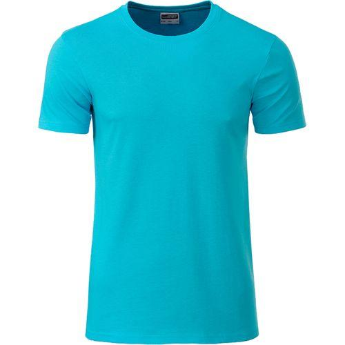 T-shirt bio Homme - turquoise