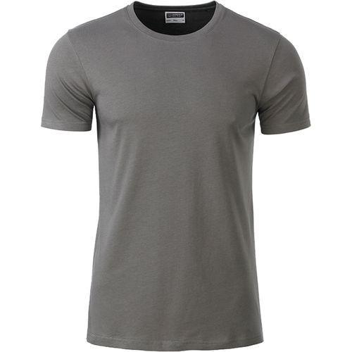 T-shirt bio Homme - gris moyen