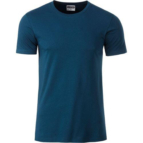 T-shirt bio Homme - bleu pétrole