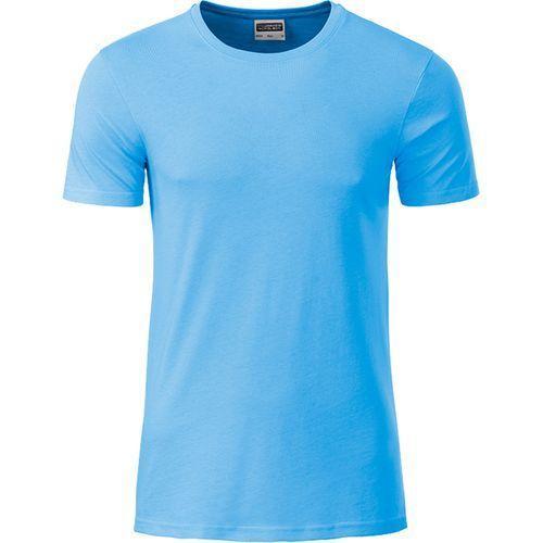 T-shirt bio Homme - bleu ciel