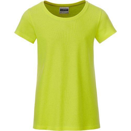 T-shirt bio Enfant - jaune acide