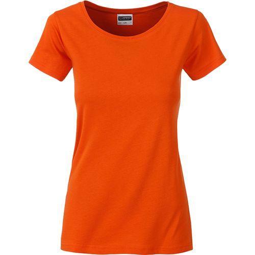 T-shirt bio Femme - orange foncé