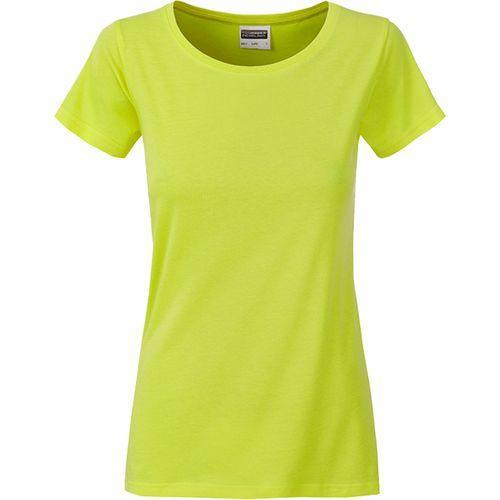 T-shirt bio Femme - jaune acide